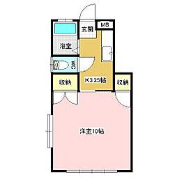 稼ぐ家姫Y3[1階]の間取り