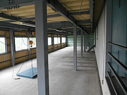 2F倉庫の増築部分です