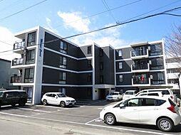 北海道札幌市中央区南十八条西7丁目の賃貸マンションの外観