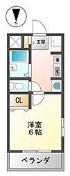 ステラハウス14[1階]の間取り