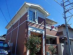 大阪府河内長野市市町の賃貸アパートの外観