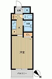 HF東神田レジデンス[0205号室]の間取り