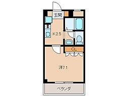 コンフォール シュウカ[2階]の間取り