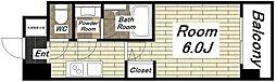 スプランディッド難波I[15階]の間取り