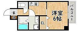 Subway 平野 NEW HOPE[5階]の間取り