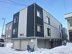 北海道札幌市手稲区富丘二条4の賃貸アパートの外観