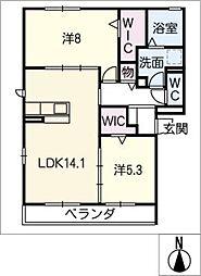 仮)D−room妙興寺[3階]の間取り