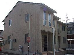 愛知県北名古屋市熊之庄新宮の賃貸アパートの外観