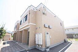 香川県高松市新田町甲の賃貸アパートの外観
