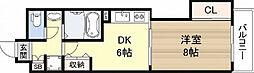 コンソラーレ日本橋[3階]の間取り