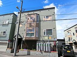 ラポート新札幌A[202号室]の外観