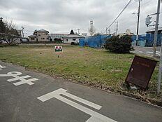 日当たり良好、角地です。桜南小学校の体育館が見える距離です。