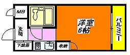 KSピースマンション[5階]の間取り