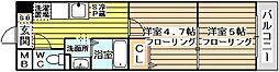アミスタ菅原[410号室]の間取り