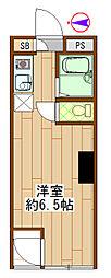 シティライブ武蔵小金井[2階]の間取り