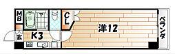 ウインズ三萩野[12階]の間取り