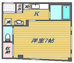 ロジュマン板橋徳丸II番館[3階]の間取り