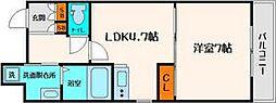 バーゼル江坂[8階]の間取り