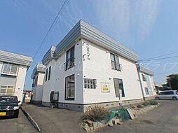 北海道札幌市東区北五十一条東5の賃貸アパートの外観
