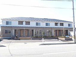富山県富山市秋吉の賃貸アパートの外観