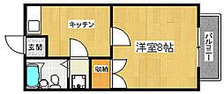 ステーションハイツII[2階]の間取り