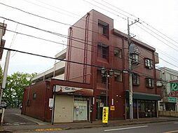 東京都日野市多摩平2丁目の賃貸マンションの外観
