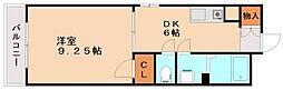 プレミール21[2階]の間取り