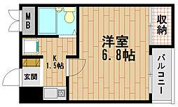 メゾネットマロニエ[3階]の間取り