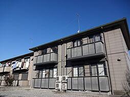 栃木県下野市文教1丁目の賃貸アパートの外観