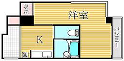 東京都世田谷区若林4丁目の賃貸マンションの間取り