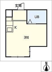 クリエイティブハウス[1階]の間取り