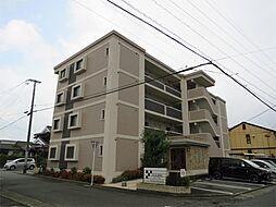 福岡県久留米市東合川4丁目の賃貸マンションの外観
