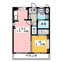 トキワハイツ[2階]の間取り
