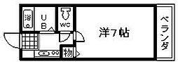 ロジュマン海塚2[201号室]の間取り