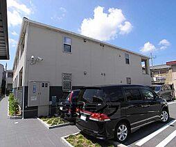 京都府京都市伏見区横大路貴船の賃貸アパートの外観