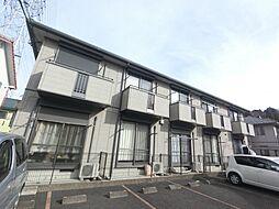 千葉県印旛郡酒々井町ふじき野3丁目の賃貸アパートの外観