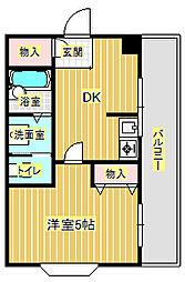 さつきビル[4階]の間取り