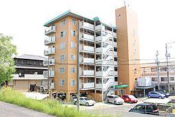 岡山県岡山市北区撫川の賃貸マンションの外観