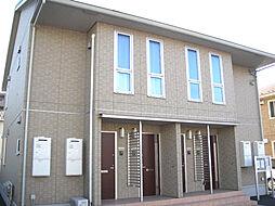 栃木県小山市大字犬塚の賃貸アパートの外観