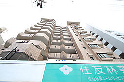 愛知県名古屋市昭和区隼人町の賃貸マンションの外観