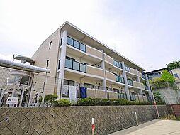 奈良県奈良市三碓5丁目の賃貸アパートの外観
