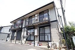 埼玉県上尾市泉台2丁目の賃貸アパートの外観