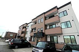 北海道札幌市北区屯田八条2丁目の賃貸アパートの外観