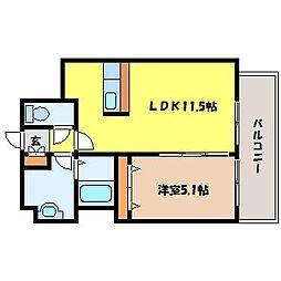 北海道札幌市中央区北三条東3丁目の賃貸マンションの間取り