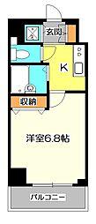フェニックス国分寺弐番館[4階]の間取り