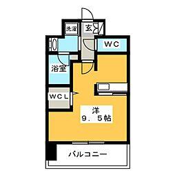 エンクレスト博多 PREMIER[8階]の間取り