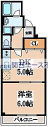 エム・ステージ小路[3階]の間取り