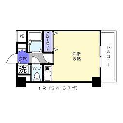 アスルシエロ苅田[6階]の間取り