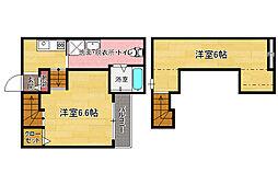 SARTO(サルト)[1階]の間取り