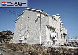愛知県名古屋市緑区平手北2丁目の賃貸アパートの外観